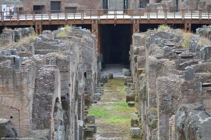Римский Колизей изнутри (7)