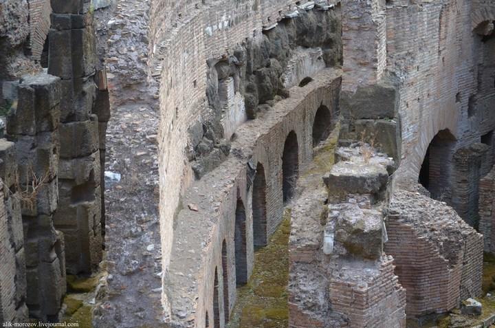 Римский Колизей изнутри (8)