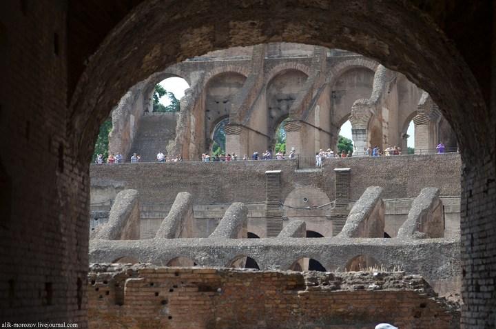 Римский Колизей изнутри (10)