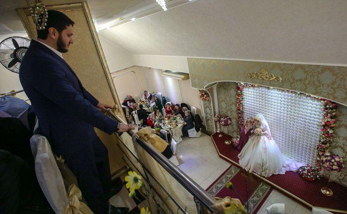 Как празднуют традиционные чеченские свадьбы в Грозном (11)