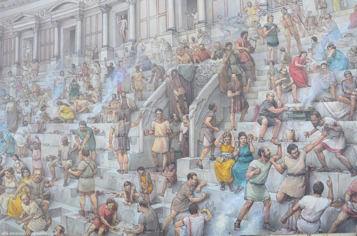 Римский Колизей изнутри (11)