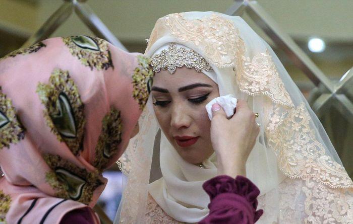 Как празднуют традиционные чеченские свадьбы в Грозном (12)