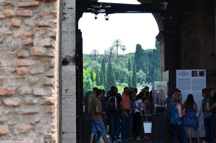 Римский Колизей изнутри (13)