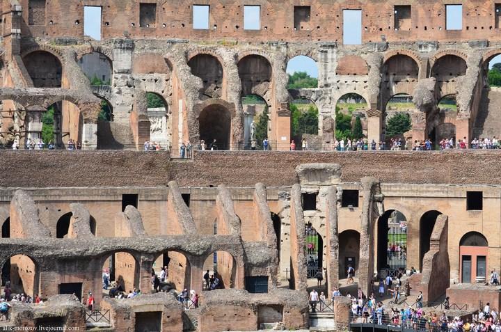 Римский Колизей изнутри (14)