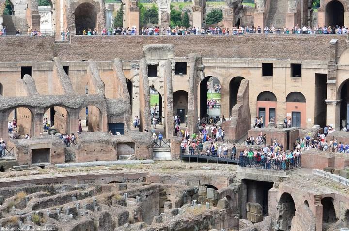Римский Колизей изнутри (15)