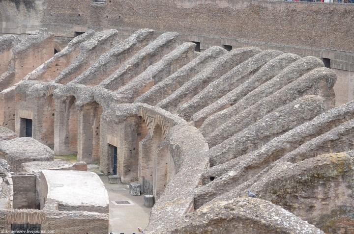 Римский Колизей изнутри (16)