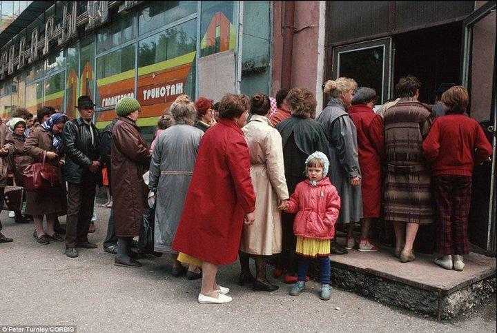 Лица советской эпохи. Очередь (17)