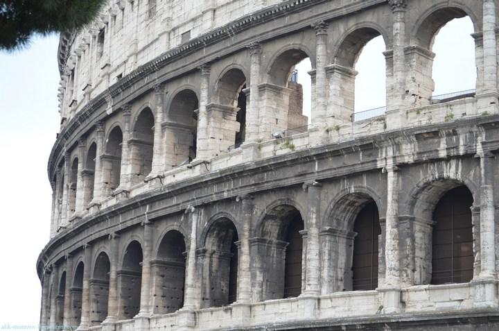 Римский Колизей изнутри (17)