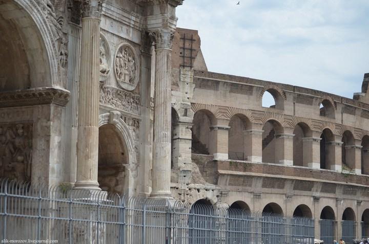 Римский Колизей изнутри (19)