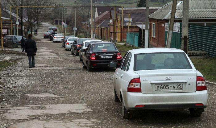 Как празднуют традиционные чеченские свадьбы в Грозном (20)