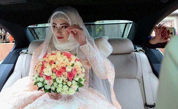 Как празднуют традиционные чеченские свадьбы в Грозном (27)