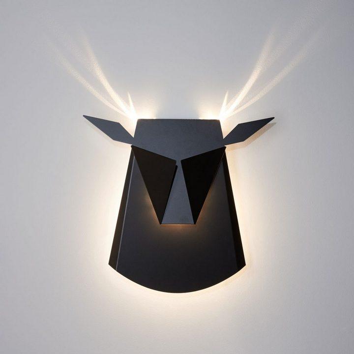 Необычные светильники в виде головы оленя и не только (9)
