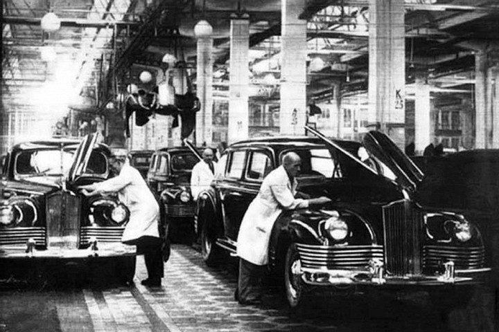 ЗИС-115 Восстановление автомобиля Сталина (4)