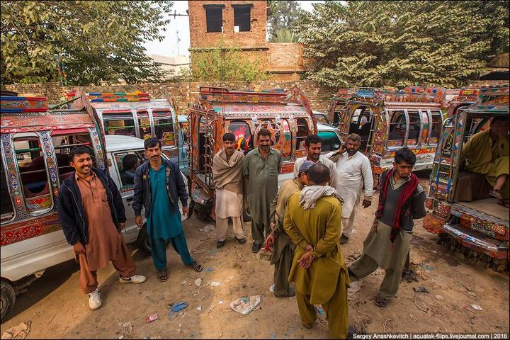 Пакистанские маршрутки (5)