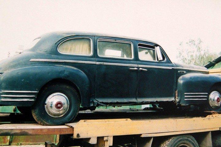 ЗИС-115 Восстановление автомобиля Сталина (7)