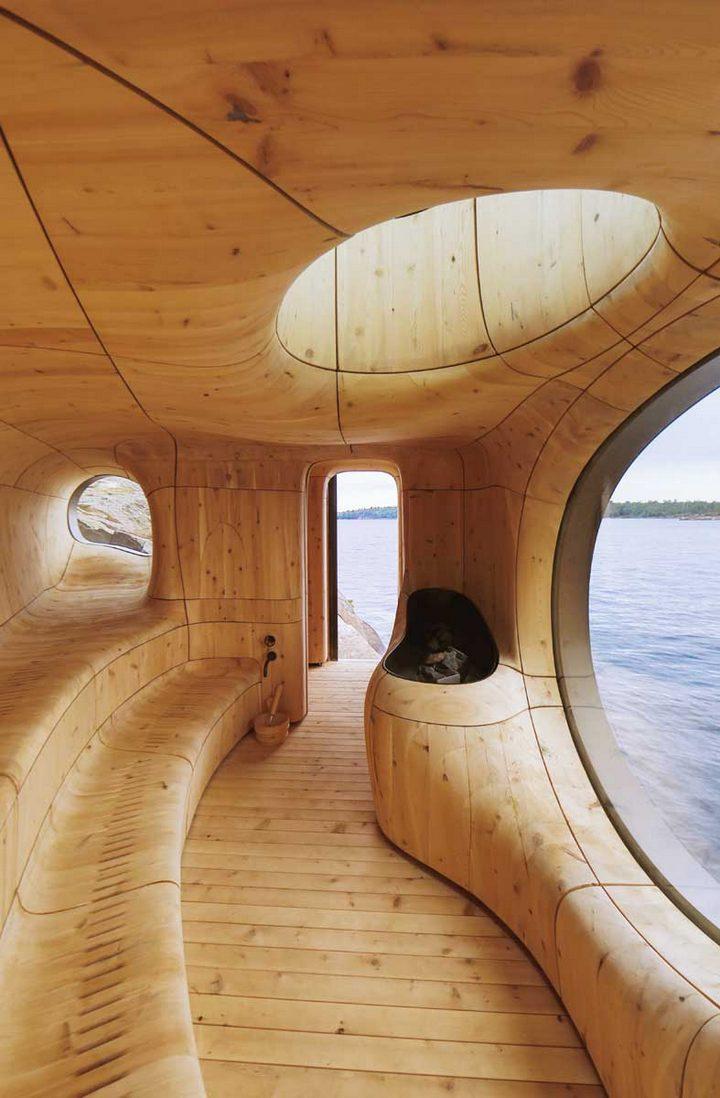 Удивительная сауна в Канаде (9)