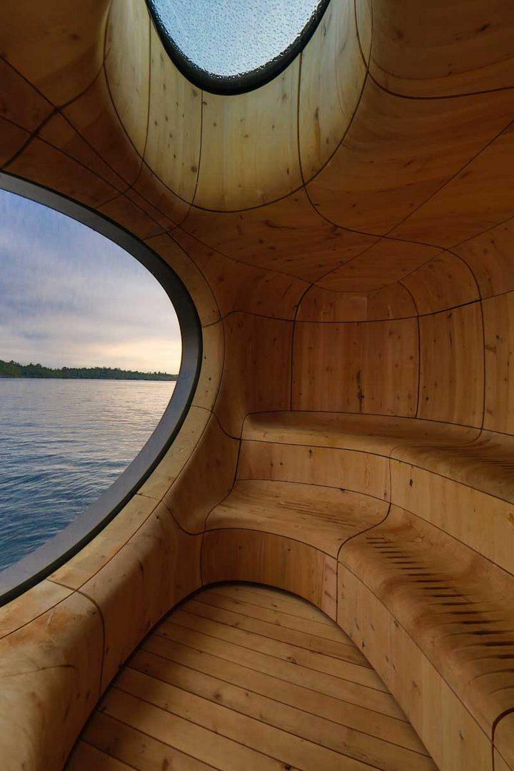 Удивительная сауна в Канаде (11)