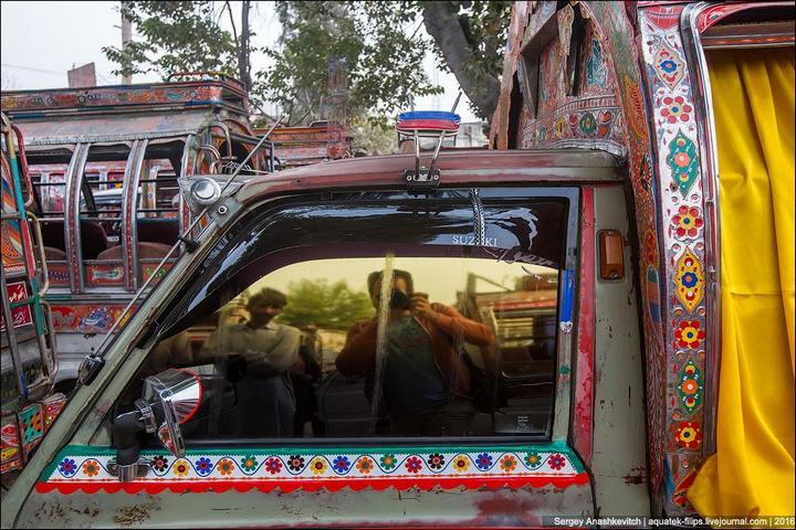 Пакистанские маршрутки (11)