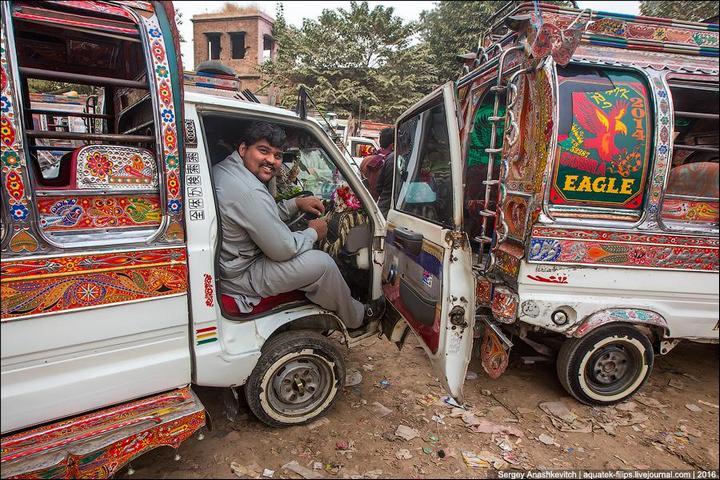 Пакистанские маршрутки (22)