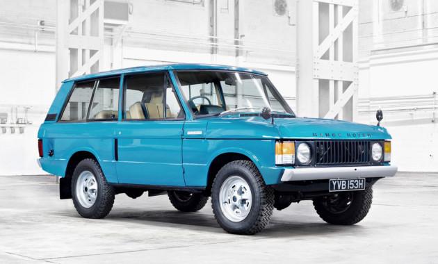 Как менялся Range Rover. 48 лет эволюции за две минуты