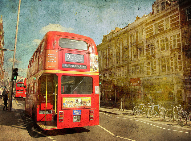 В Лондоне исчез многолетний символ города (9)