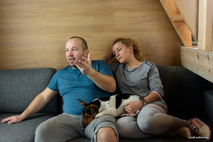 Втроем на 16 квадратных метрах. Семья живет в микродоме под Минском (24)