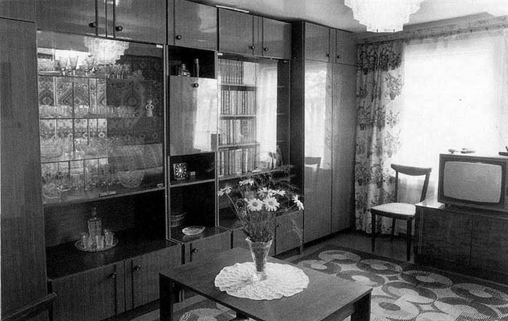 Интерьеры советских квартир 70-х (4)