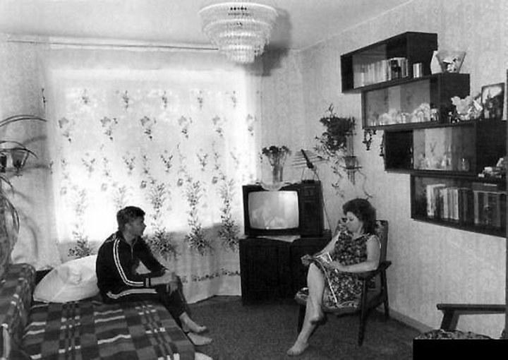 Интерьеры советских квартир 70-х (3)