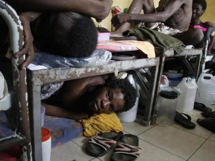 Тюрьма в столице Гаити Порт-о-Пренсе (1)