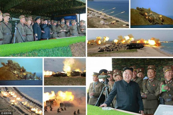 В Северной Корее прошли массовые стрельбы (4)