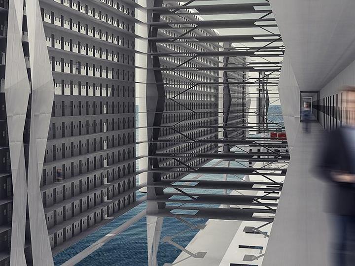 Французские архитекторы разработали проект тюрьмы-корабля (5)