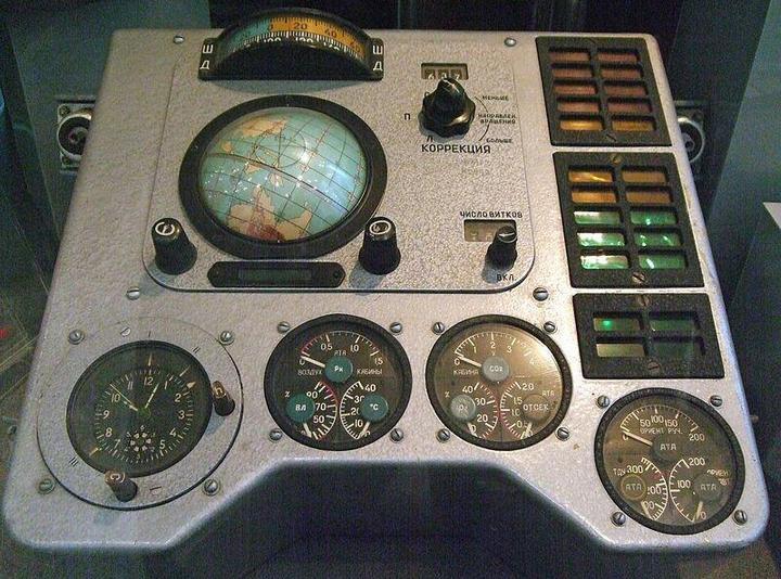 Навигационное оборудование космического корабля Восход (2)