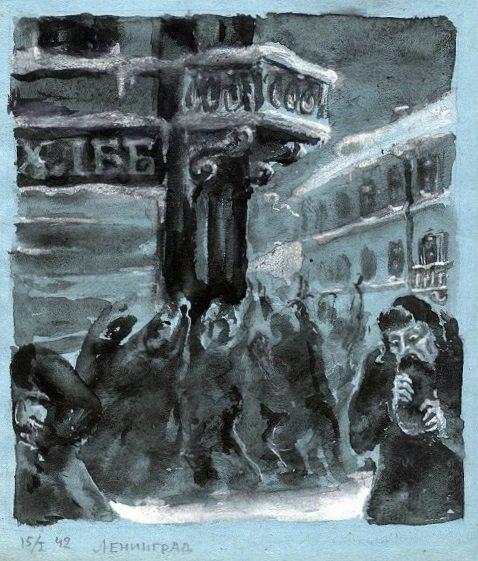 «Зарабатывают шакалы»: дневники блокадников Ленинграда... (2)
