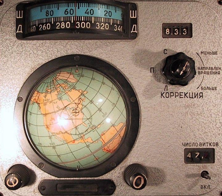 Навигационное оборудование космического корабля Восход (4)