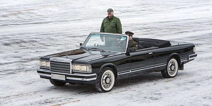 Парадный кабриолет ЗИЛ-41041 АМГ (1)