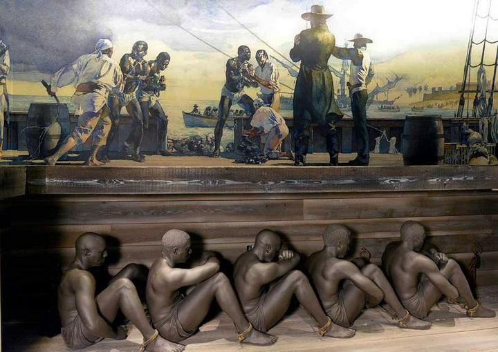 О том, как перевозили африканских рабов (1)
