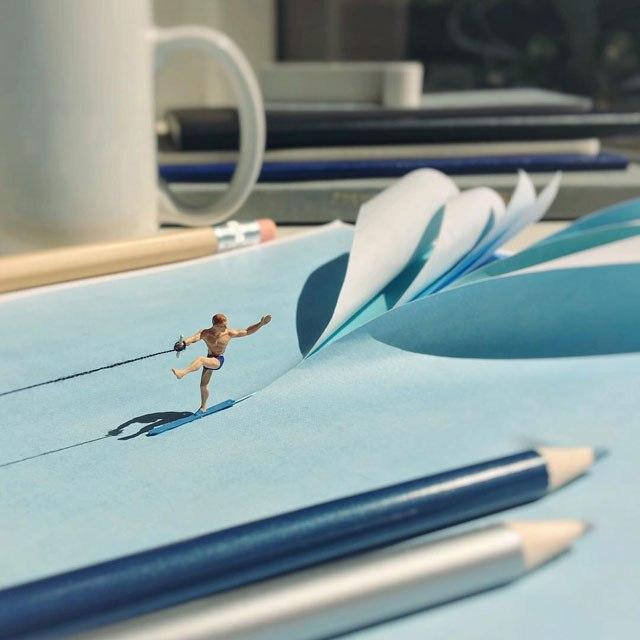 Удивительные миниатюры Деррика Лина (10)