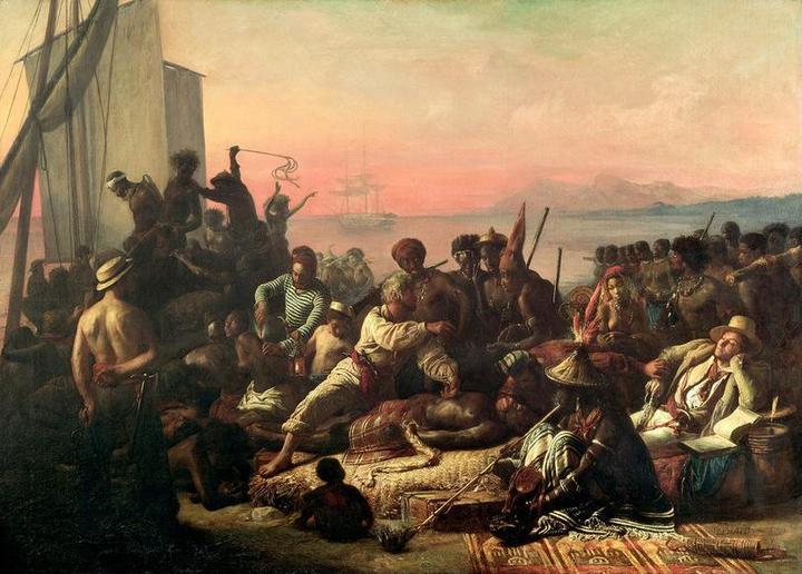 О том, как перевозили африканских рабов (2)