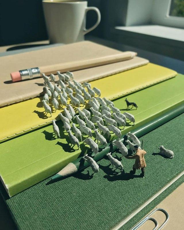 Удивительные миниатюры Деррика Лина (2)