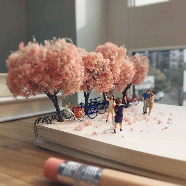Удивительные миниатюры Деррика Лина (5)