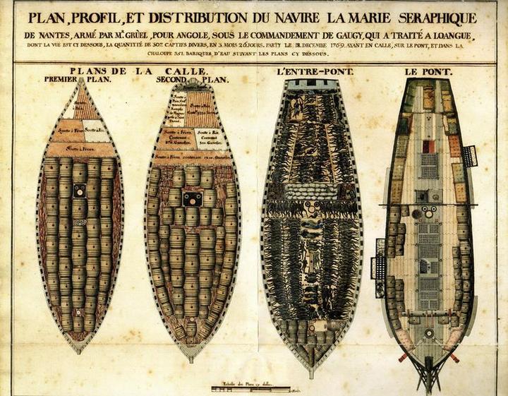 О том, как перевозили африканских рабов (8)