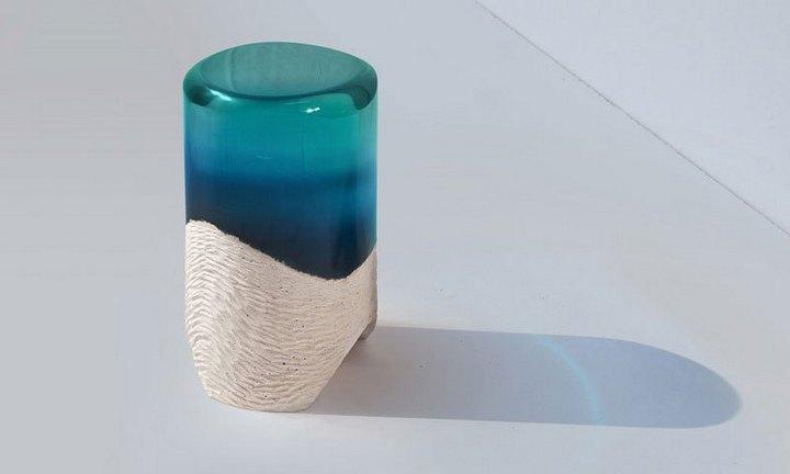 Удивительная мебель из стекла и мрамора (8)