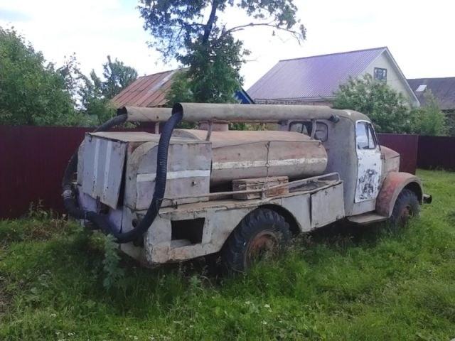 Возрождение старого пожарного ГАЗа из 1960-х (1)