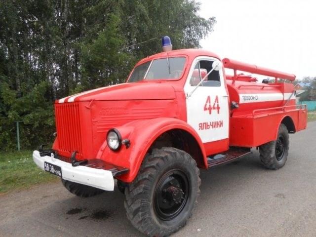Возрождение старого пожарного ГАЗа из 1960-х (10)