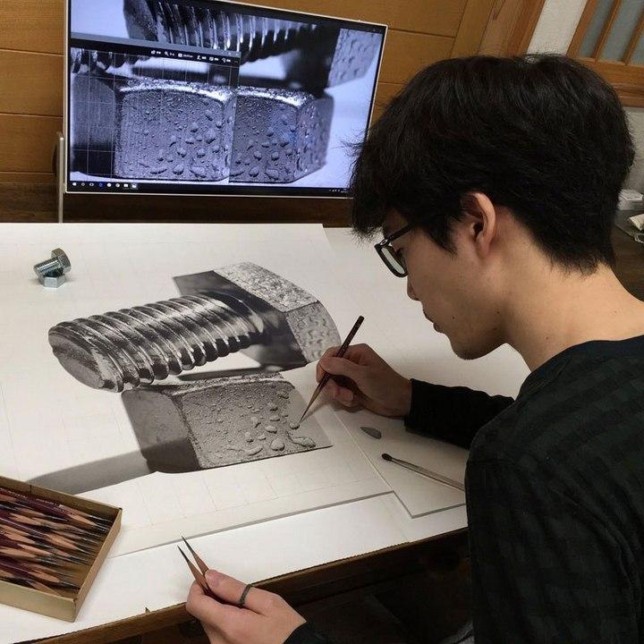 Супер реалистичные рисунки Kohei Ohmori (12)