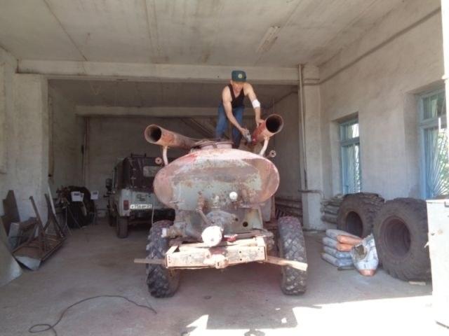 Возрождение старого пожарного ГАЗа из 1960-х (2)