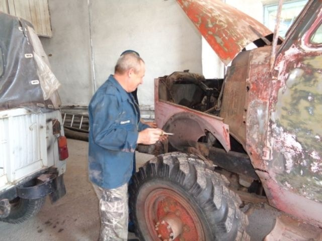 Возрождение старого пожарного ГАЗа из 1960-х (3)