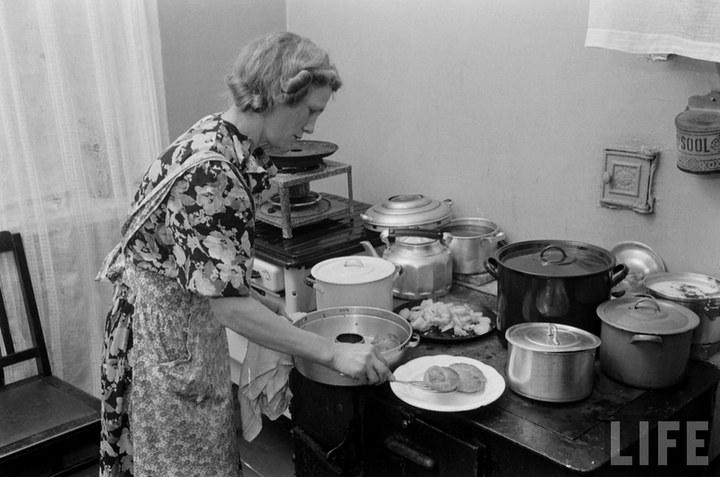 Жизнь рабочего в СССР 50-х (37)