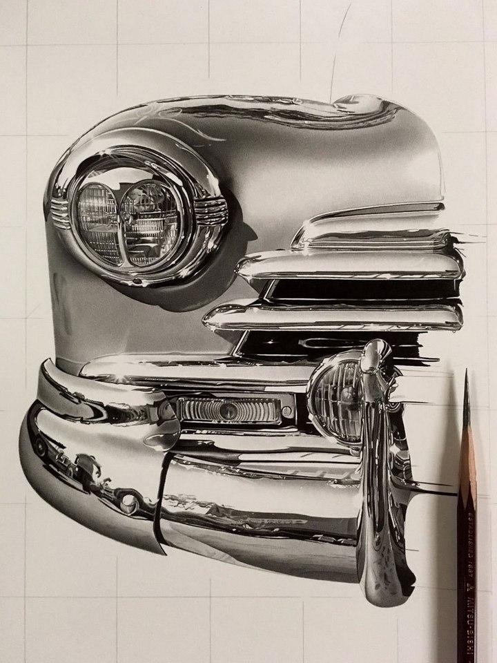 Супер реалистичные рисунки Kohei Ohmori (4)