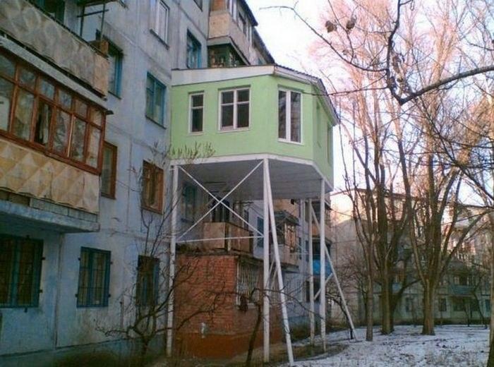 Балкон в России как объект для творчества и креативных идей (19)